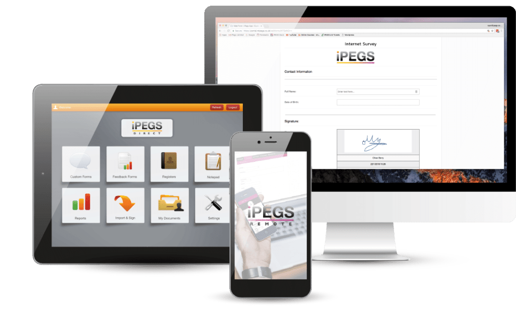 Go Paperless with iPEGS