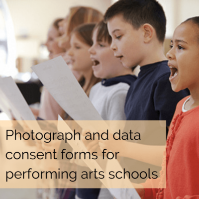 Photograph Consent Forms For Schools